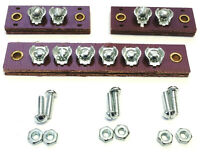 willys MB Wiring Harness Junction Block Set ✅ (A1490 639599) 1@6 post, 2@2 Post