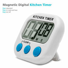 Temporizador Digital, Temporizador de Cocina, Reloj de Cocina con Gran LCD