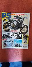 Motorradzeitschrift PS 11-2017 Nakeds 2018-CB 1000 R-GSX 1250-Panigale 1100 V4