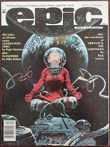 Epic Illustrated #17 VF- 7.5 (Marvel 1983)