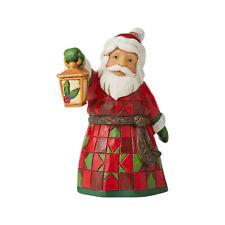 Enesco Jim Shore Mini Santa With Lantern Nib Item # 6006661