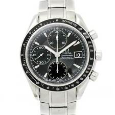 OMEGA Speedmaster Date Chronograph Automatic Black Dial Mens 3210 50 90110778