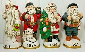 Christmas Reproductions. Memories of Santa ornaments 1916,1898,1892.1887
