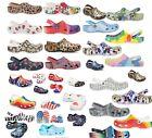 Limited Edition CROCS Classic Clogs FancyGraphic Shoes Sandals Unisex