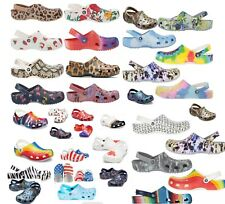 Limited Edition CROCS Classic Clogs Fancy/Graphic Shoes Sandals Unisex