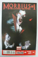 MORBIUS THE LIVING VAMPIRE #1 1ST PRINT DELL'OTTO COVER MOVIE!!! MARVEL 2013
