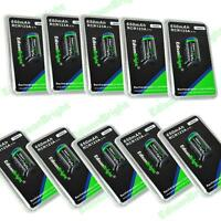 10 Pack Genuine EdisonBright 16340 RCR123A 650mAh rechargeable Li-ion batteries