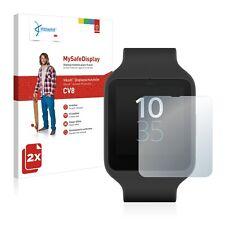 2x Vikuiti Schutzfolie CV8 von 3M für Sony Smartwatch 3 SWR50 Displayschutz