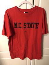NC State  Nike T-Shirt - Red-medium