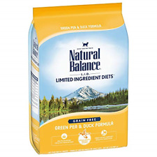 Natural Balance L.I.D. Limited Ingredient Diets Dry Cat Food Grain Free 2 Pounds