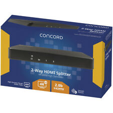 Concord 2 Way HDMI Splitter With 4k Support AC5000