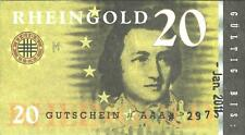 Amper-Taler 1 unit local currency POLYMER Gutschein 2010