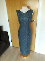 Ladies COUNTRY CASUALS CC Dress Size 10 Long Shift Floral Party Wedding Evening