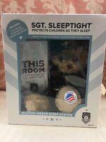 U.S. ARMY Teddy Bear SLEEPTIGHT ZZZ Bears Sgt. MILITARY Grade Sleep System NEW