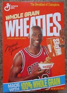 Vintage 1993 Michael Jordan Wheaties Box