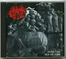 CD metal FLAME : Into the age of fire / Iron Pegasus 2005, Finland