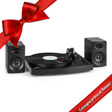 Giradischi Vintage Altoparlanti Bluetooth Retrò Casse Stereo 33/45 Giri Vinile