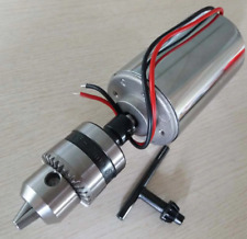 DC 12V-48V 12000rpm  300W Air Cooled Spindle Motor Engraving Milling