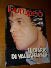 EUROPEO 1987/31=RENATO VALLANZASCA=CHARLIE WATTS=AKIO MORITA=ZIZI JEANMAIRE=ECT