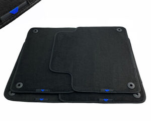 Floor Mats For Volvo With Blue Sripe Emblem Tailored Carpets Set For All Models