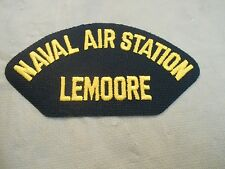 US NAVY Naval Air Station Lemoore Cap Patch Iron On