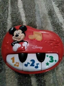 My First Piano HAP-P-KID Disney Mickey Mouse Clubhouse 1 2 3 Musical Key Board