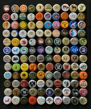 120 Different Animal Themed Bottle Caps / Crowns - Most obsolete, some rare