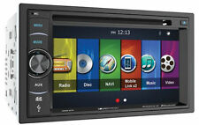 "SOUNDSTREAM VRN-64HB 2 DIN DVD PLAYER 6.2"" TOUCH SCREEN GPS NAVIGATION BLUETOOTH"