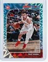 2019-20 Panini NBA Hoops Trae Young Teal Explosion