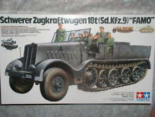 Tamiya 1/35 German 18-ton Heavy Half-track FAMO Model Military Vehice Kit #35239