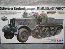 Tamiya 1/35 alemán 18-ton pesado media pista Famo modelo militar vehice Kit #35239
