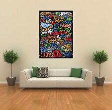 Imagine- John Lennon Lyrics Giant Wall Art Poster Print