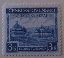 Czechoslovakia Caprithio-Ukraine Stamp 254B MNH WWII Nazi Issue Cat $25.00