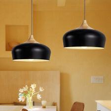 Modern Pendant Light Kitchen Chandelier Light Wood Ceiling Lights Bar Black Lamp