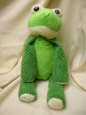 "Scentsy Buddy Ribbert the Frog Plush Stuffed Animal 16"" Green Scent Pak Lura"
