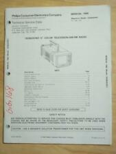 Philips Service Manual for the CK3923 CH01 TV Radio  mp