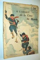 ALPINISME RÉCIT EVEREST HIMALAYA TIBET 1921 MALLORY 1922 BRUCE F. AUER Ed.ROUFF
