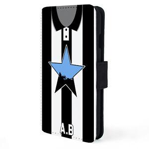 Personalised Newcastle iPhone Case Retro Football Flip Phone Cover Mens VS54