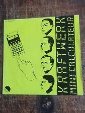 KRAFTWERK - MINI CALCUKLATEUR(7') - EMI 2C008 64369 - FRENCH PRESSING -RARE!!!!!
