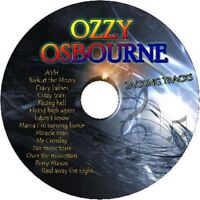 OZZY OSBOURNE GUITAR BACKING TRACKS CD BEST GREATEST HITS MUSIC PLAY ALONG ROCK