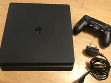 Sony PlayStation 4 Slim 500GB Matte Black Console PS4
