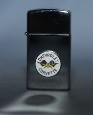 ZIPPO   USA VOITURE AMERICAINE CHEVROLET CORVETTE SLIM 1997