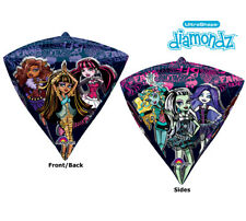 DIAMONDZ 4-sided MONSTER HIGH School Teenager Birthday Party Balloon