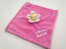 Baby Gear Pink Growing Cuter Flower Baby Security Blanket Plush Lovey Daisy