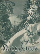 Finland Wartime Magazine Hakkapeliitta 1941 #9 - WWII