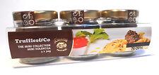 European Truffles Collection 3 x30 grams Black Truffles White Truffles Tartufata