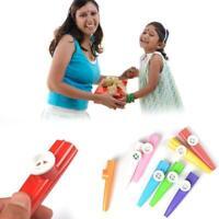 3PCS Kazoo Harmonica Mouth Flute Children Musical Party Instrument Mond Plastic