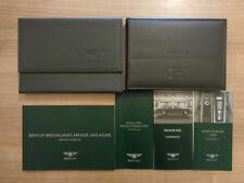 Bentley Arnage RL Owners Handbook/Manual and Wallet (GERMAN)