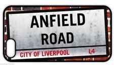 """""""Anfield Road signo calle"""" cubierta posterior para el iPhone para Fútbol Ventilador De Liverpool"""