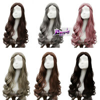 Heat Resistant 6 Colours Long Curly Lolita Style Anime Cosplay Full Hair Wig